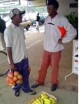 Harare vendors